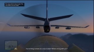 Download GTA V: Stealing A Military Cargo Plane Midflight Video