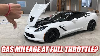 Download MPG's at FULL THROTTLE... IT'S SO BAD LOL! (840hp C7) Video