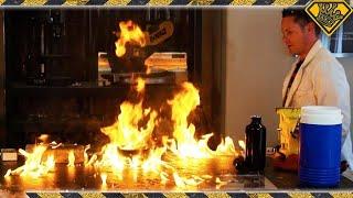 Download Will Frozen Gasoline Burn? Video