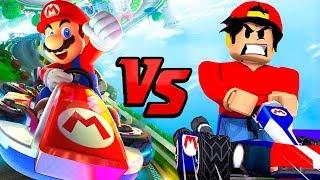 Download MARIO KART 8 EN ROBLOX | Mario Kart 8 - Roblox Adventures Video