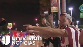 Download Hialeah celebra con cacerolas y vítores la muerte de Fidel Castro Video