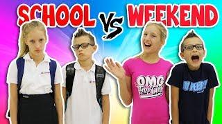 Download NIGHTTIME ROUTINE!! SCHOOL DAY vs WEEKEND Video