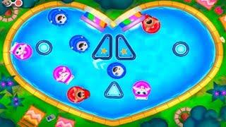 Download ГОВОРЯЩИЙ ТОМ АКВАПАРК ОХОТА ЗА ЯЙЦАМИ #7 мультик игра видео для детей Talking Tom Pool Egg Hunt Video