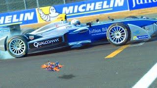 Download The Chase: Drone vs Formula E Car - Senna vs Speed Video
