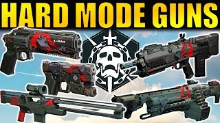 Download Destiny: ALL Hard Mode Raid Weapons! | Gameplay & First Impressions | Wrath of the Machine Video