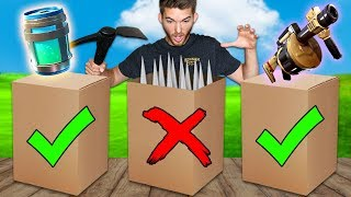 Download DONT Open the WRONG Fortnite Mystery Box in Real Life!! Video