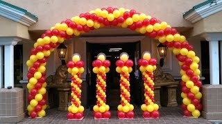 Download How to Make a Balloon Arch - Balloon Decoration Ideas Video