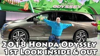Download 2018 Honda Odyssey 1st Look & It's Awesome Video