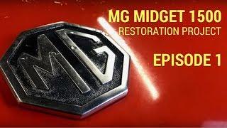 Download MG Midget 1500 Restoration - Rust Repair Video