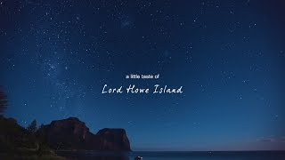 Download A Little Taste of Lord Howe Island Video