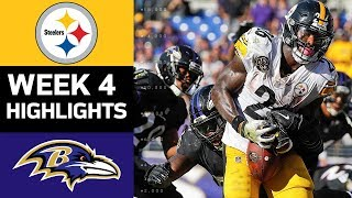 Download Steelers vs. Ravens | NFL Week 4 Game Highlights Video