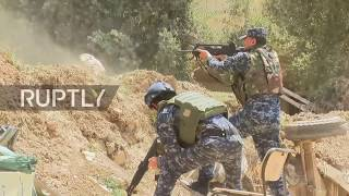 Download Iraq: Security forces fend off Islamic State fighters from Mosul frontline Video
