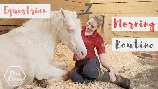 Download MORNING ROUTINE of an Equestrian | Summer 2018 | This Esme Video
