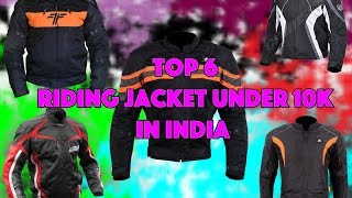 Download Top 6 Riding Jackets Under 10k in India Video