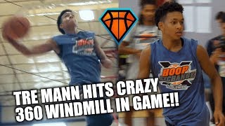 Download Tre Mann Hits CRAZY 360 WINDMILL IN GAME at HoopExchange!! | Young Vinsanity?! Video