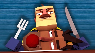 Download Minecraft - EATING THE INTRUDER FOR DINNER! (Hello Neighbor in Minecraft) Video