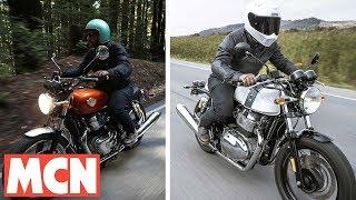 Download Royal Enfield Continental GT & Interceptor ridden | Motorcyclenews Video