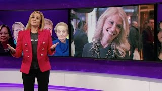 Download The Great Feminists in Feminism Herstory Hall of Lady Fame | Full Frontal with Samantha Bee | TBS Video