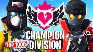 Download Fortnite CHAMPION DIVISION Tournament!! // Top 1000 Pro Players // (Fortnite Battle Royale) Video