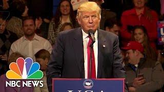 Download Donald Trump's First Victory Tour Speech Highlights | NBC News Video