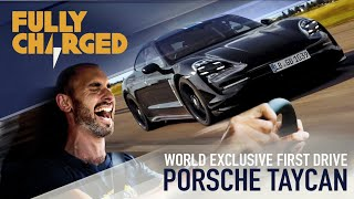 Download Porsche Taycan WORLD EXCLUSIVE genuine first drive & launch control testing 0-200kph | Fully Charged Video