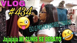 Download VLOG#434ENSEÑANDOLE EL VICIO A MI CUÑADITA🤣SANTA DESPELUCADA LE DIMOS A LOS MARIDITOS🙊 Video