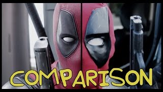 Download Deadpool Trailer- Homemade Side-by-Side Comparison Video