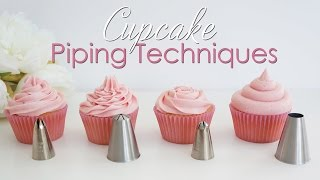 Download Cupcake Piping Techniques Tutorial Video