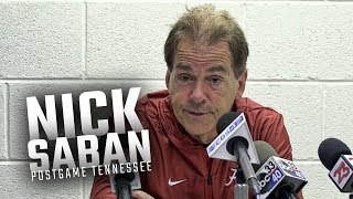 Download Hear what Nick Saban had to say following Alabama's week 8 win over Tennessee Video