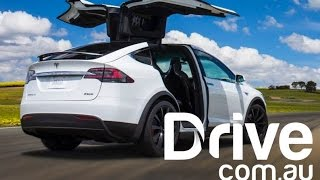 Download Tesla Model X Australian First Drive Review | Drive.au Video