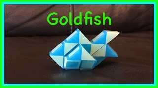 Download Smiggle Snake Puzzle or Rubik's Twist Tutorial: How to make a Goldfish Shape... Step by Step Video Video