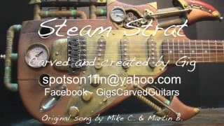 Download Steampunk Guitar Custom Stratocaster Video