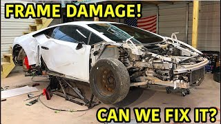 Download Rebuilding A Wrecked Lamborghini Huracan Part 2 Video