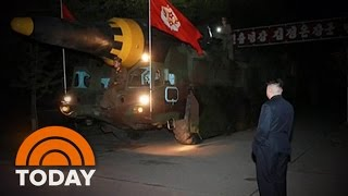 Download North Korea Missile Launch Shown In New Images   TODAY Video