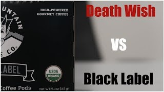 Download Black Label Review | Is BLACK LABEL Coffee Better Than DEATH WISH? Video