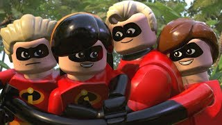 Download LEGO The Incredibles - All Cutscenes Full Movie HD Video
