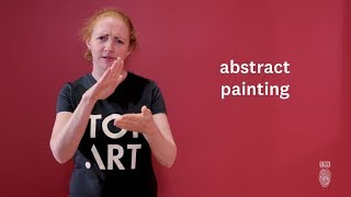 Download How to sign art words in New Zealand Sign Language Video
