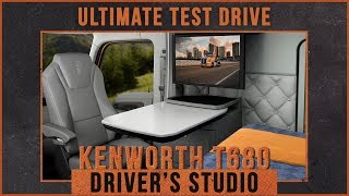 Download Take a Tour of the Kenworth T680 Driver's Studio Video