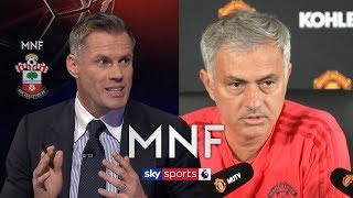 Download Carragher's passionate response to Mourinho after Rashford comments | MNF Video