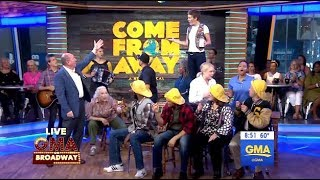 Download Cast From 'Come From Away' (GMA LIVE) Video