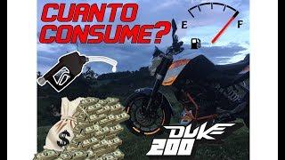 Download CUANTO CONSUME UNA KTM DUKE 200   ¿COMO AHORRAR? (Tips Reales) Video