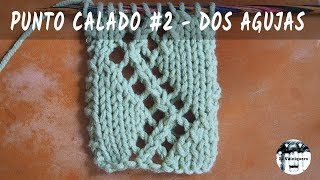 Download Punto calado #2 - Dos agujas, tricot, calceta - Tutorial paso a paso Video