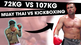 Download 72KG Muay Thai Legend vs. 107 KG Kickboxing Legend | RIP Nokweed Davy Video