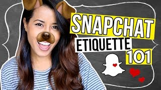 Download HOW TO USE SNAPCHAT: Do's & Don'ts // Tips & Tricks | Ariel Hamilton Video