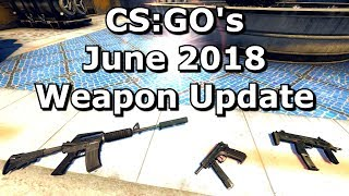 Download CS:GO's June 2018 Weapon Balance Update Video