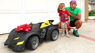 Download I BOUGHT HIS DREAM CAR!! (BATMAN BATMOBILE) Video