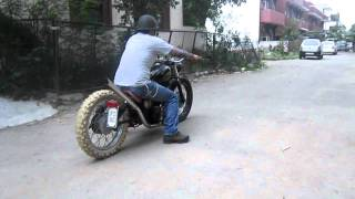 Download Royal Enfield Custom Bobber Video