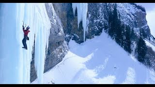 Download Ice Pillar Snaps with Climber on It, Here's How He Survived | Sub-Zero, Ep. 3 Video