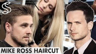 Download Mike Ross Hairstyle ★ SUITS Patrick J Adams ★ Men's Hair Video