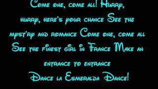 Download Topsy Turvy - The Hunchback Of Notre Dame Lyrics HD Video